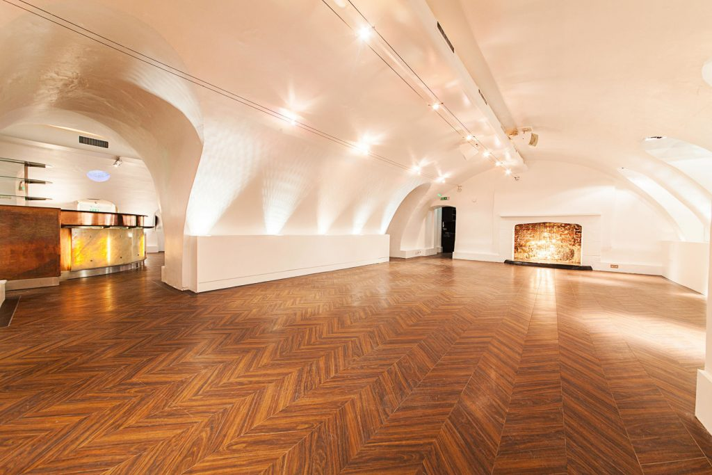 A blank canvas venue which looks like an exhibition space, with arched ceilings and white walls. Nine Adam Street is a blank canvas venue which allows you to make it your own.