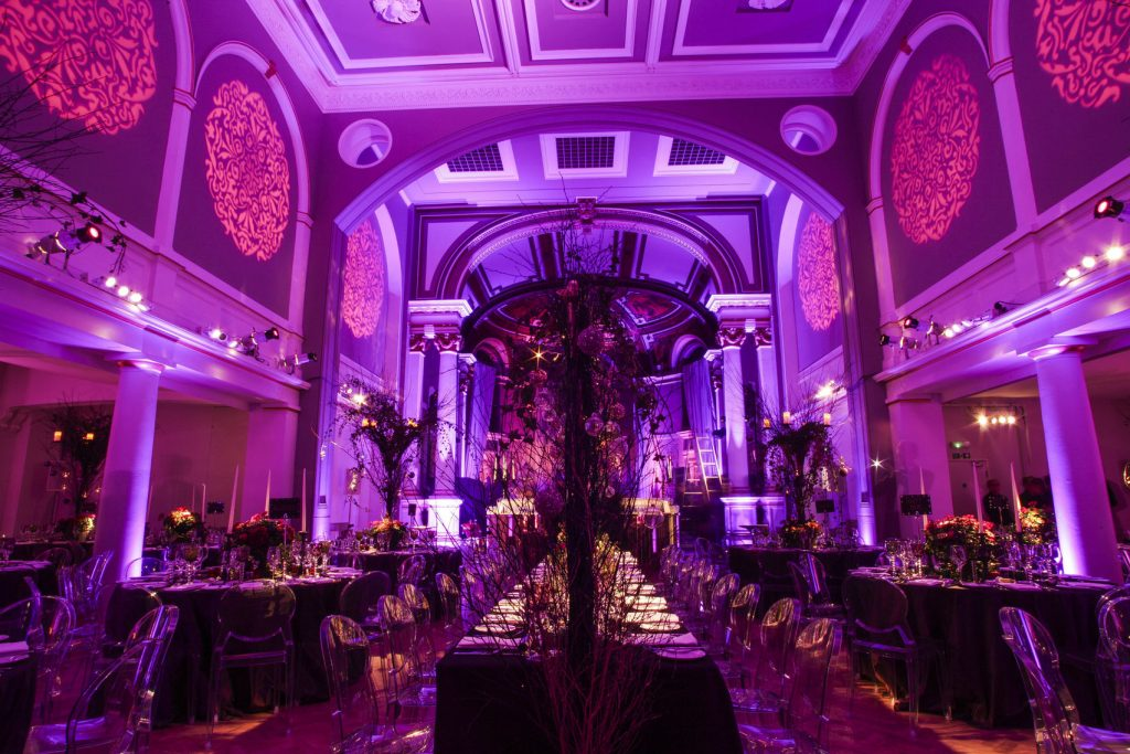A great Christmas party venue in the city. A large hall perfect for corporate parties