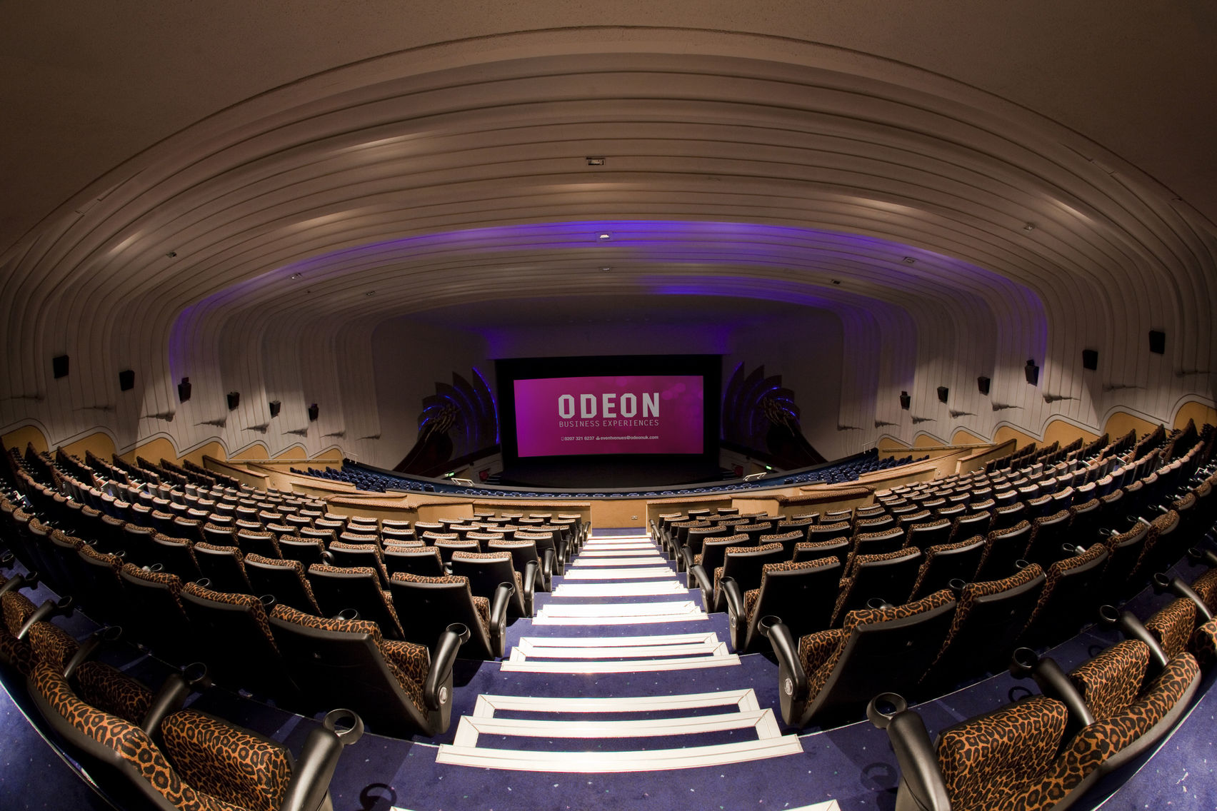 Odeon cinema hire London