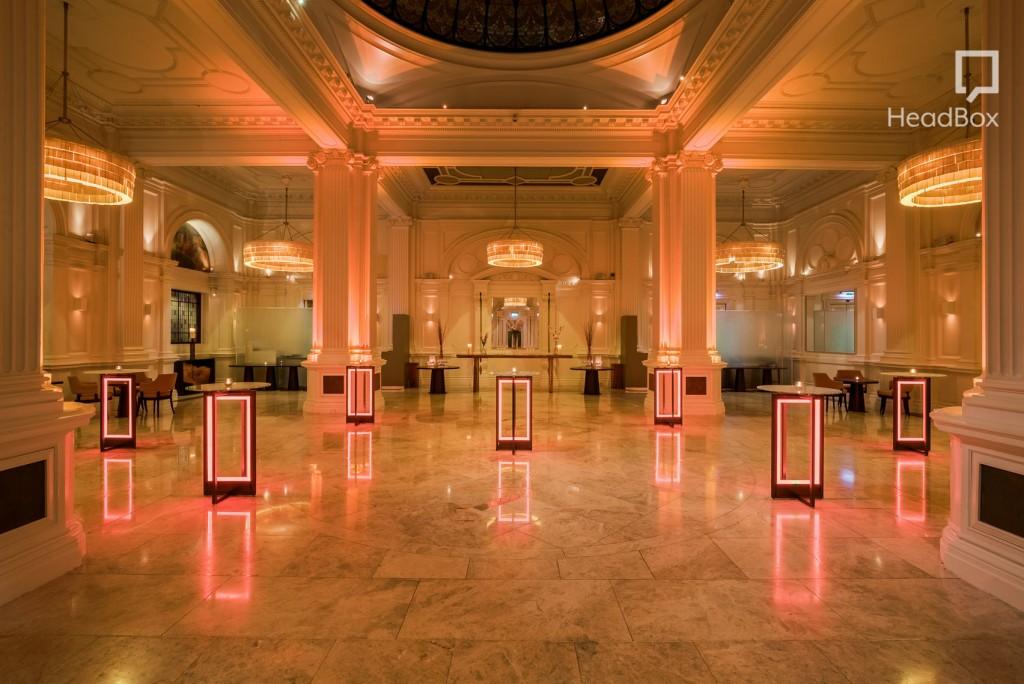 Grand ballroom at Andaz Hotel