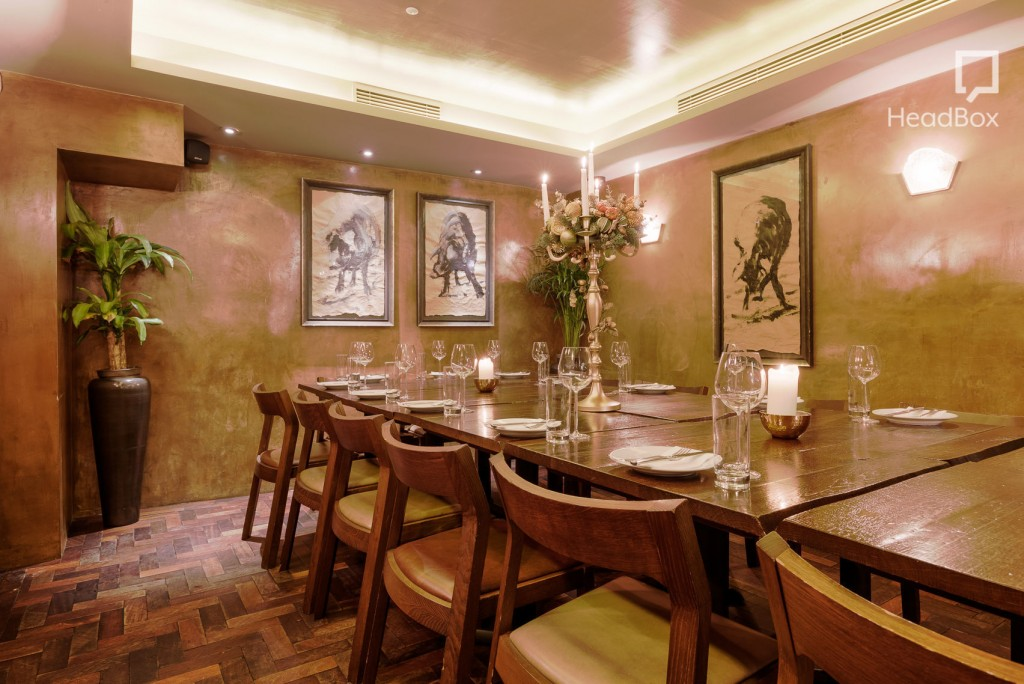Best private dining rooms in covent garden from headbox for Restaurants with private rooms near me