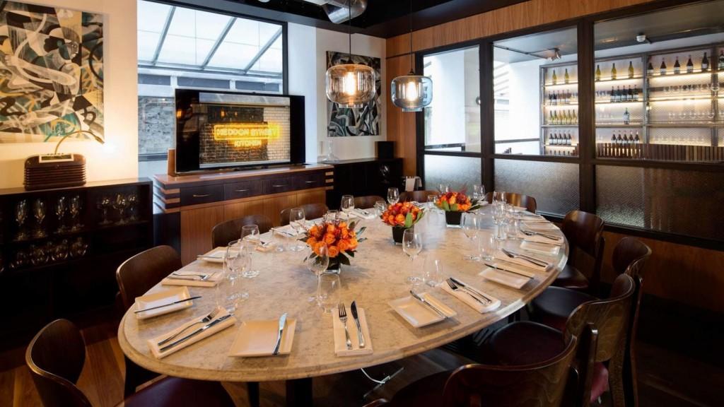 Best Meeting Rooms in Mayfair from HeadBox : Private Dining Room Heddon Street Kitchen 1024x576 from www.headbox.com size 1024 x 576 jpeg 152kB