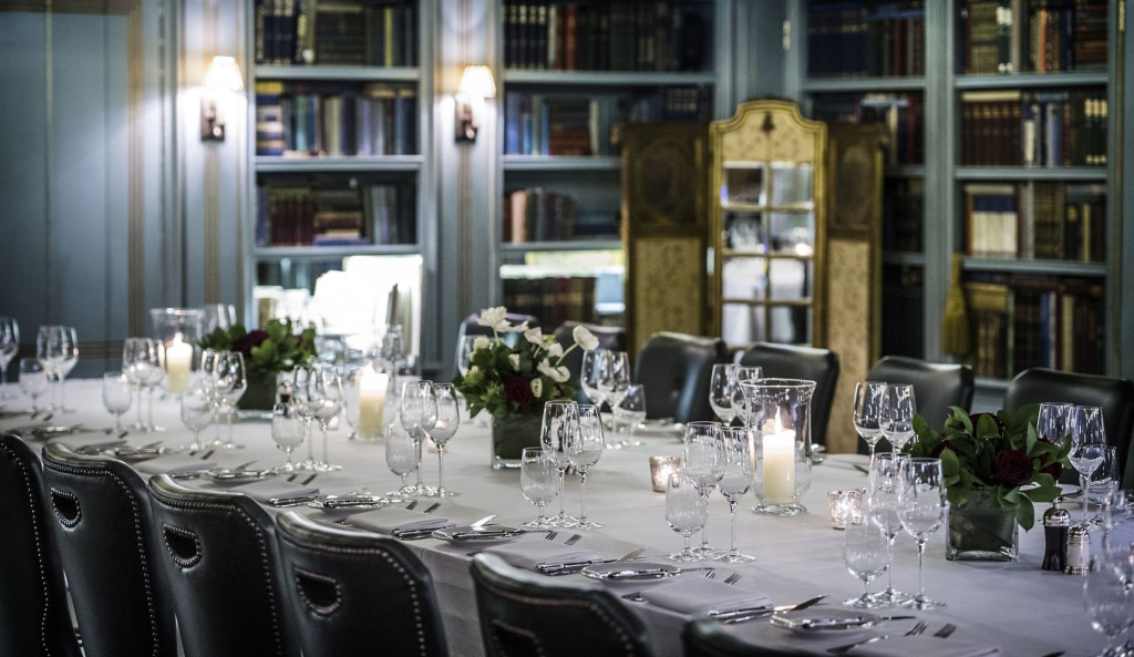 Bentley's elegant restaurant, private dining soho