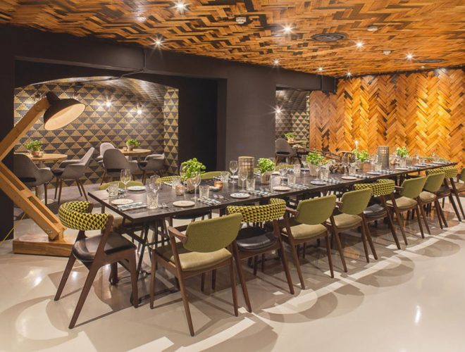 Treasury private dining rooms london city