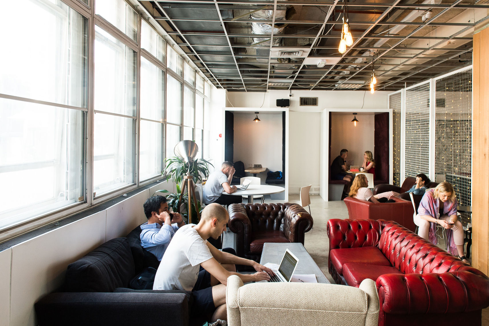 Hangar58 a laid back co-working lounge.