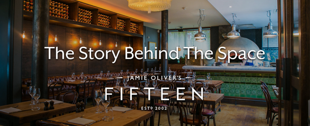 The story behind jamie oliver s fifteen with headbox