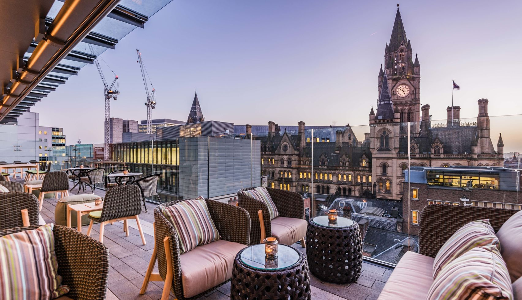 roofed terrace venue hire Manchester