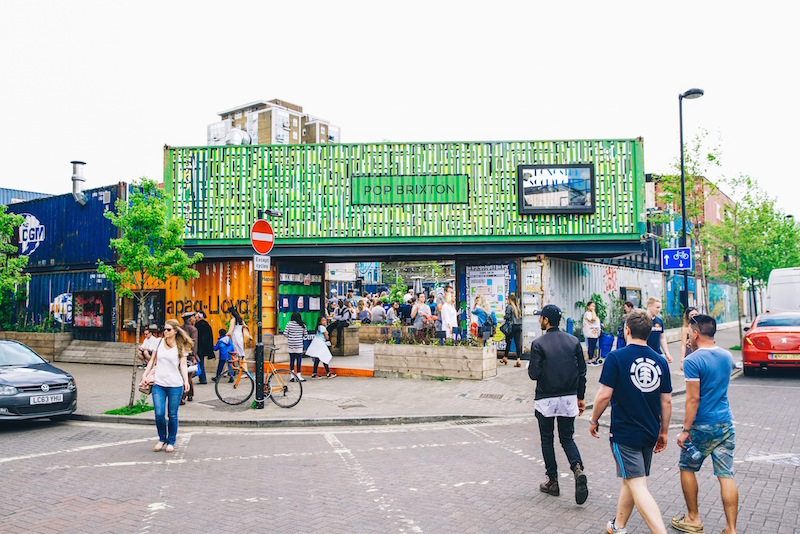 street photo of pop brixton