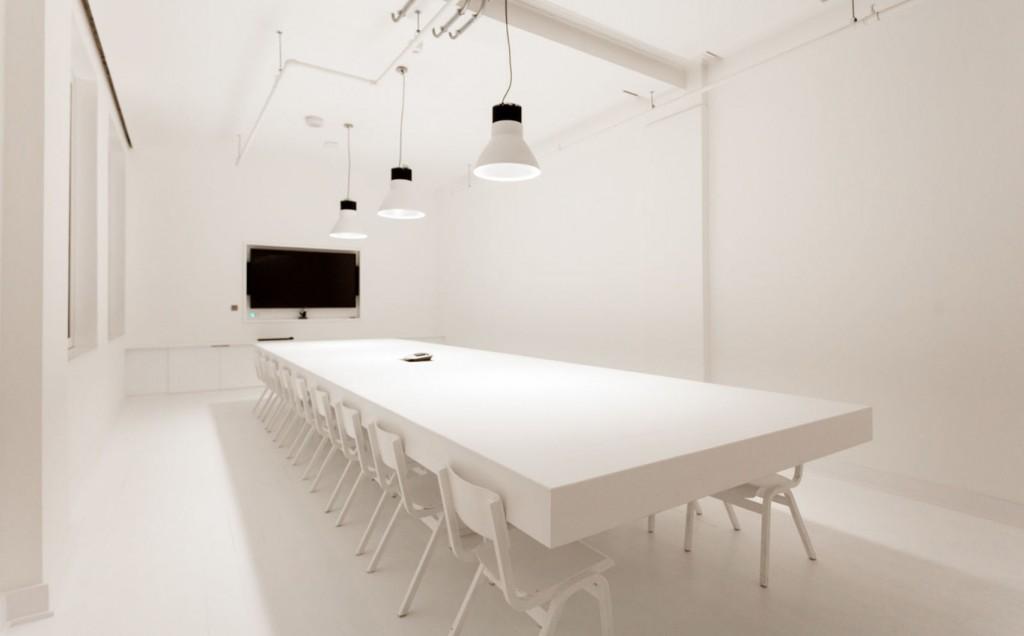 Large white screening room London