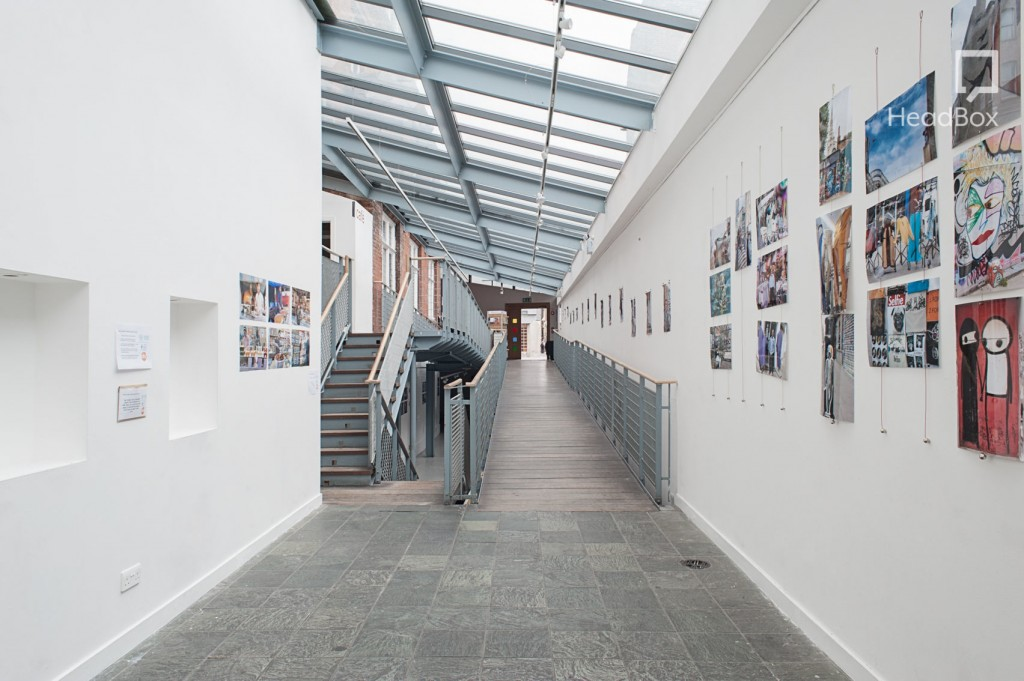 industrial warehouse gallery at oxford house