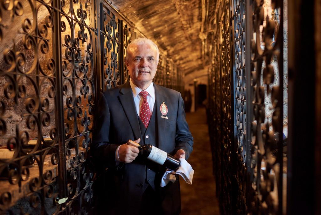 Gino Nardella at The Stafford Wine Cellars