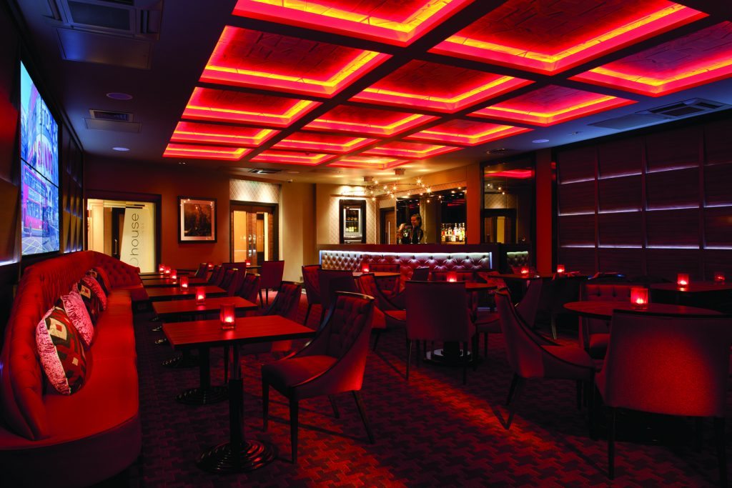 red lit private dining rooms london