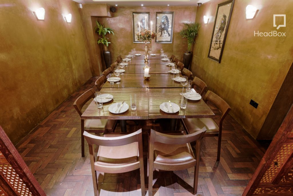 ultimate guide to private dining rooms in london - headbox