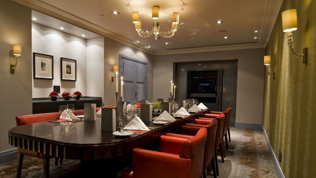 elegant private dining rooms London