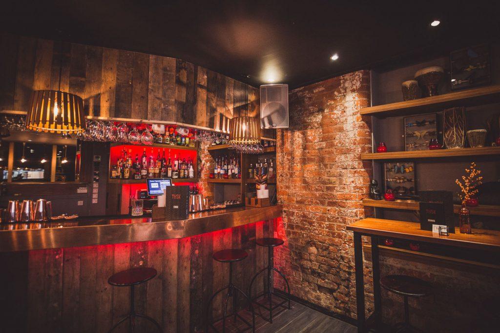 Manchester northern quarter bars with brickwork