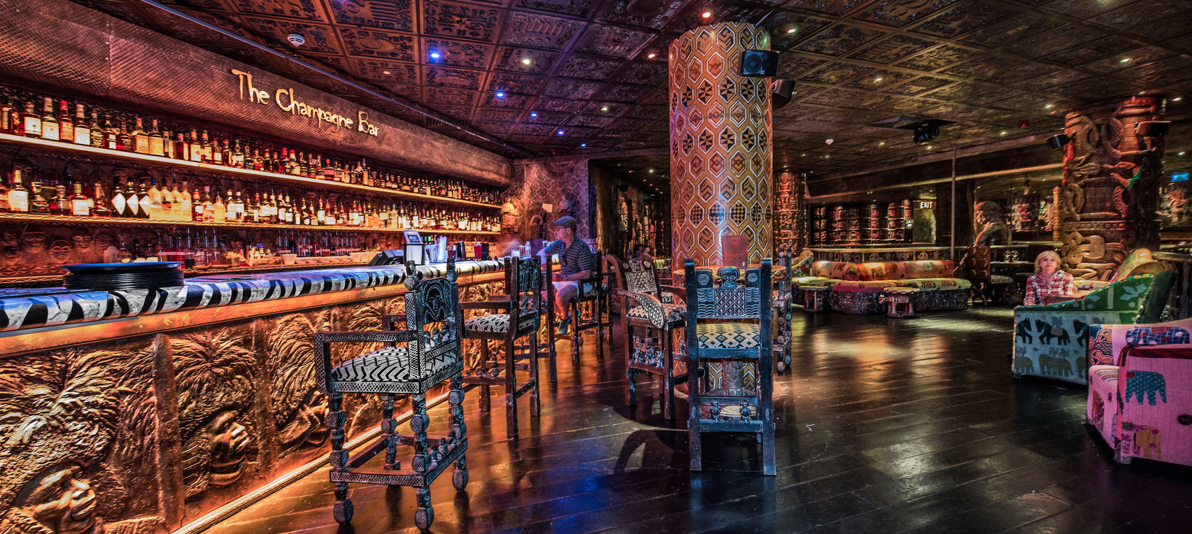 unusual Christmas party venue Shaka Zulu