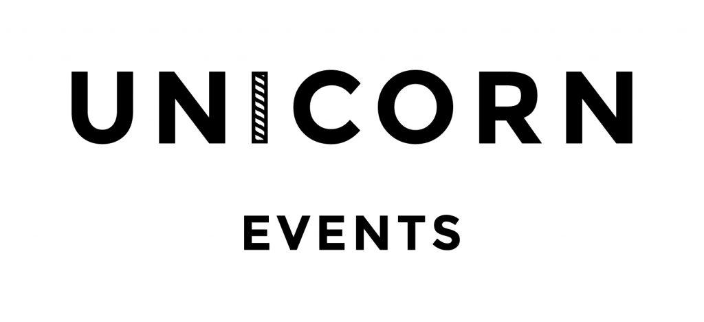 'unicorn events' logo