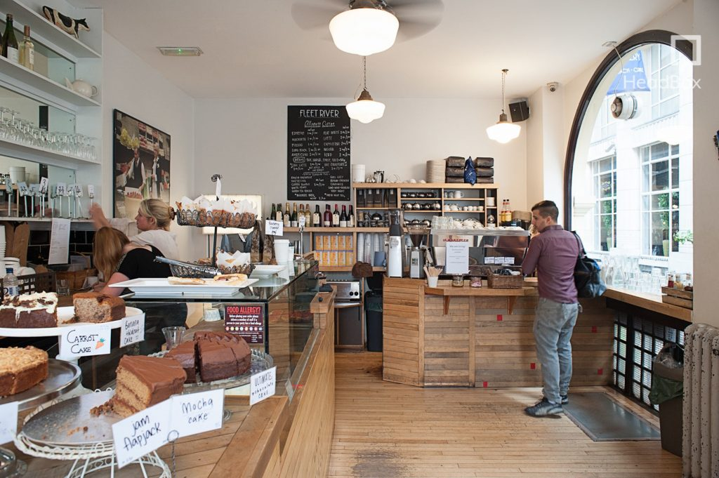 Fleet River Bakery Is A Classy Cafe With Modern Rustic Vibe The Building Has Large Windows Which Allow Amounts Of Light To Enter