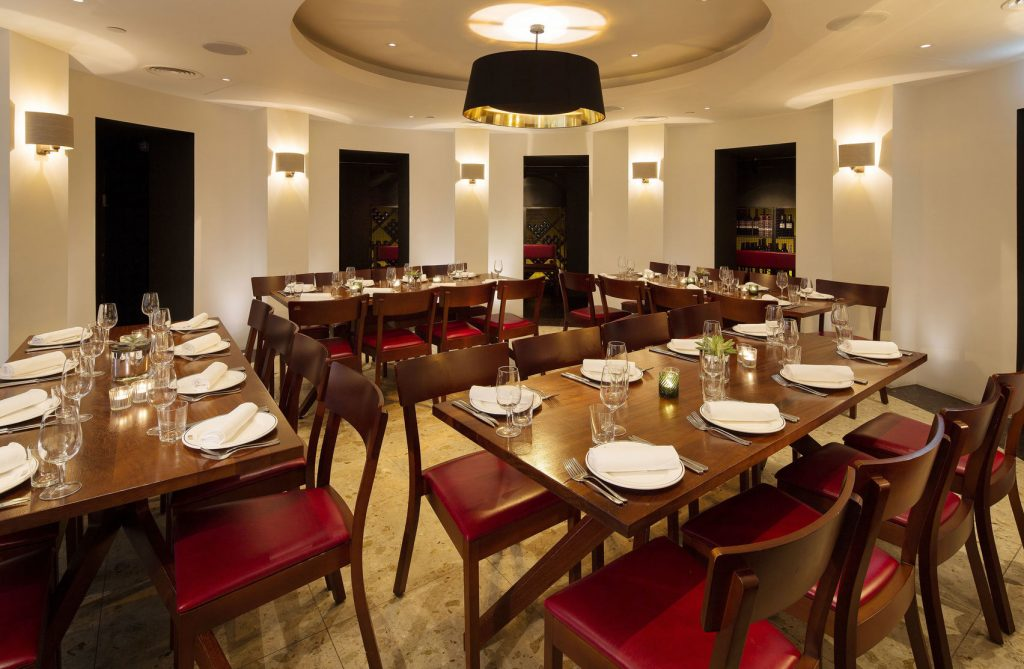 bright london private dining rooms