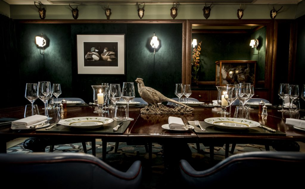 green London private dining room