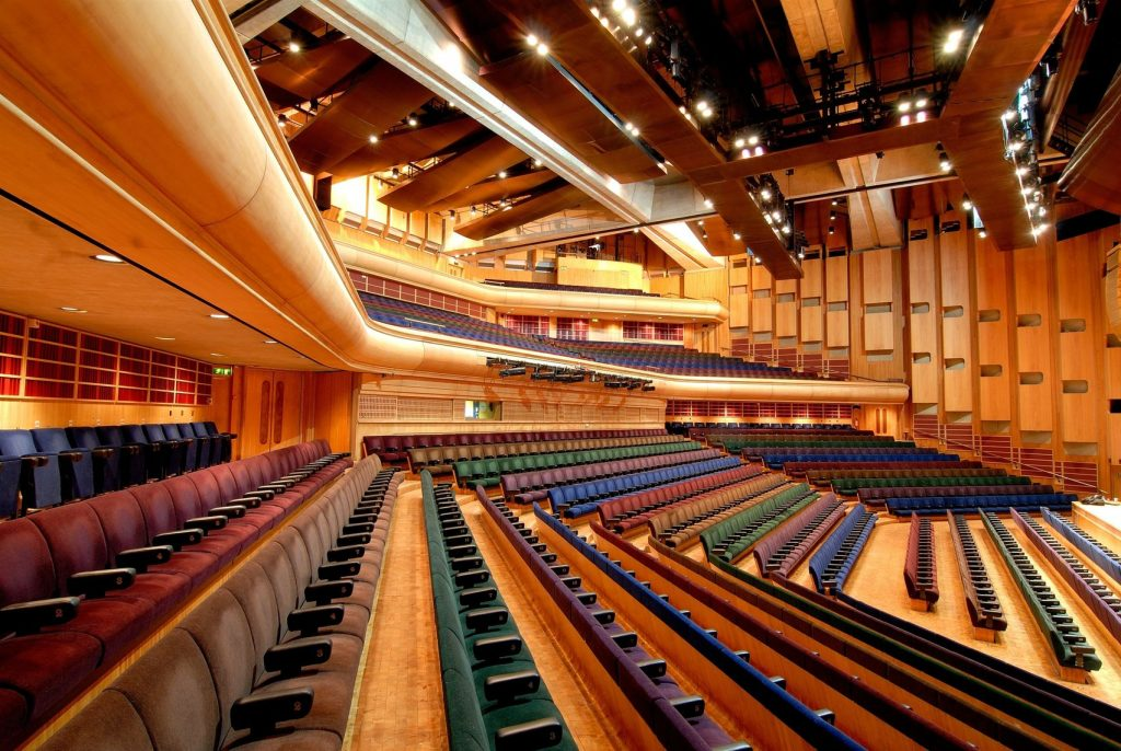 The Barbican lecture hall is part of the Barbican which is one of the most historic venues in London