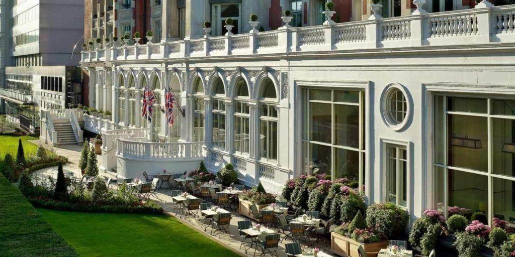 mandarin hotel terrace and gardens