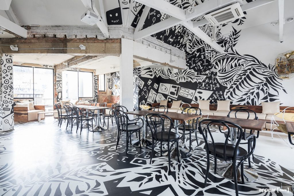 artsy creative spaces in London