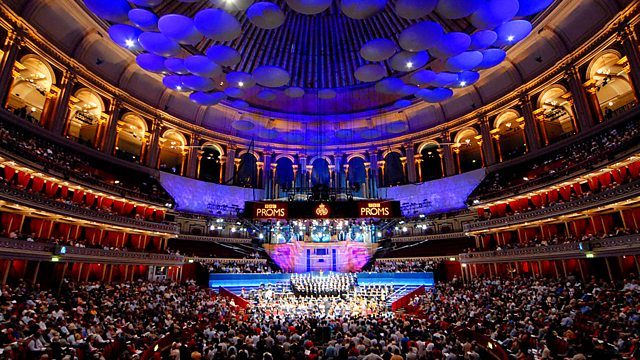 An image of the BBC proms arena