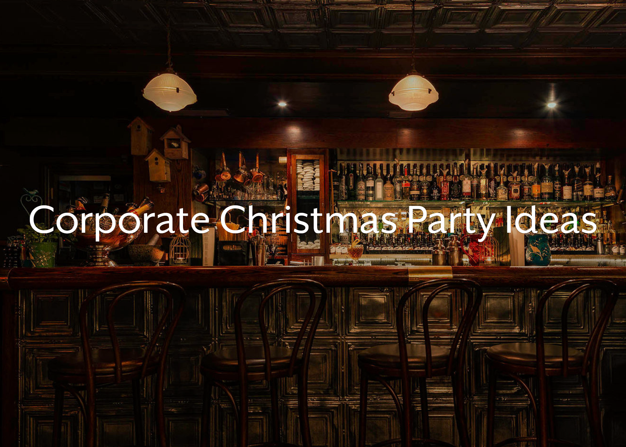Corporate Christmas Party Ideas for 2018