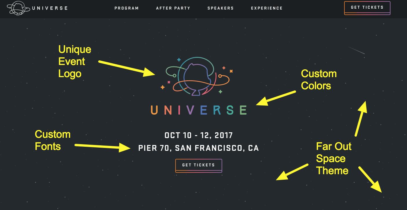 An image of an event logo