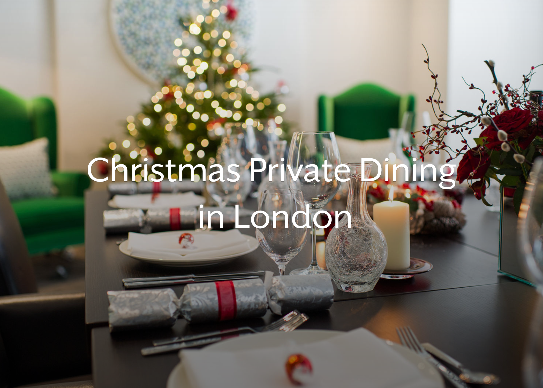 christmas private dining