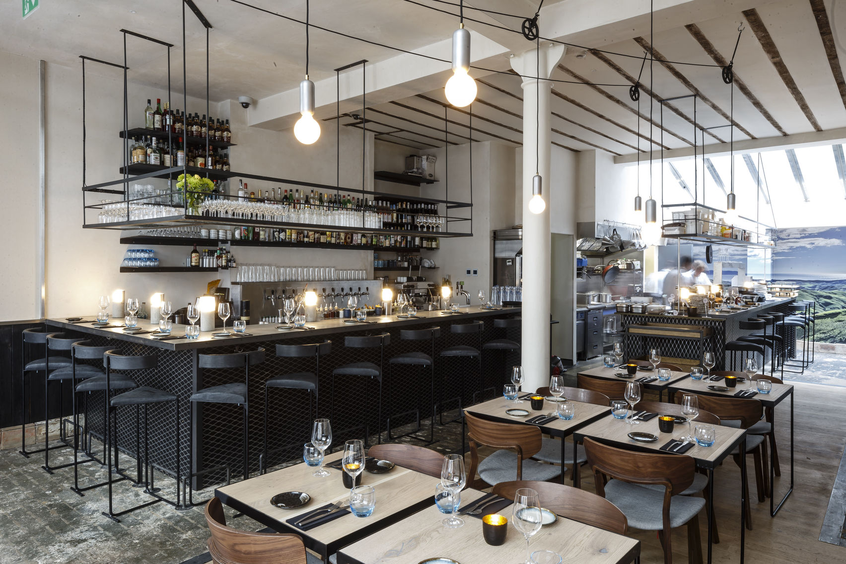 magpie london for Christmas private dining