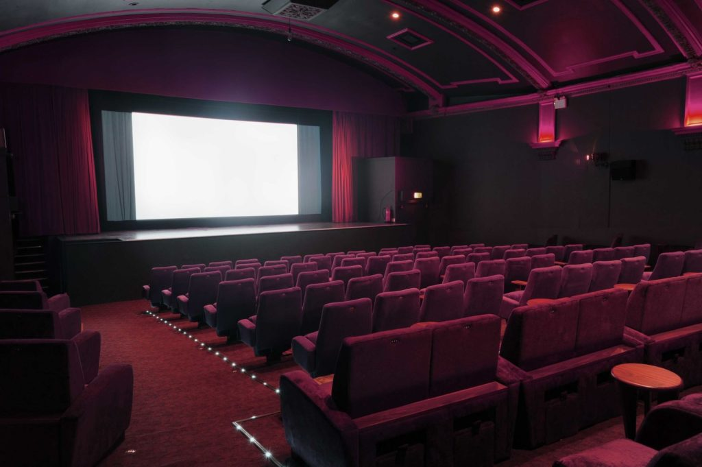 screening room at the Everyman Islington