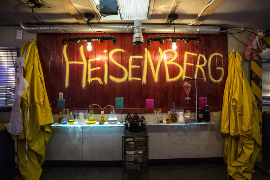 A Breaking Bad inspired bar in Shoreditch, London