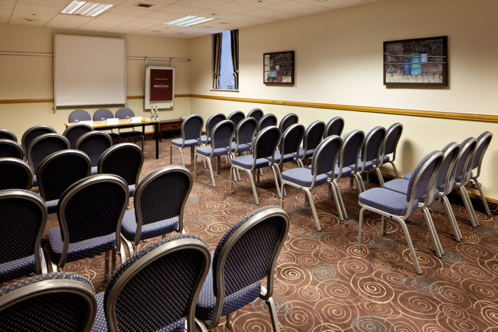 the Broker Suite at Mercure Glasgow City Hotel